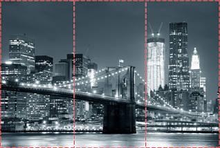 Фотообои текстурированные, виниловые Мосты, 250х380 см, fo01inV_ar11381, фото 2