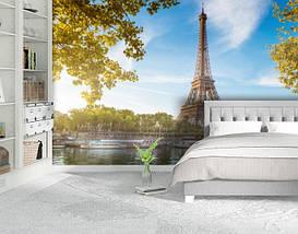 Фотообои бумажные гладь, Эйфелева башня, 200х310 см, fo01inB_ar10342, фото 2