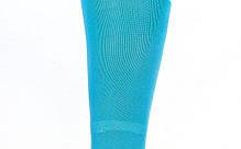 Гетры футбольные взрослые голубые с белой полосой CO-120-LB, фото 3