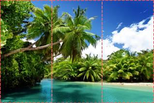 Фотообои текстурированные, виниловые Горы, реки, 250х380 см, fo01inV_mr00363, фото 2