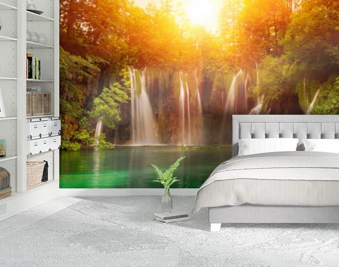 Фотообои текстурированные, виниловые Водопады, 250х380 см, fo01inV_pr11069