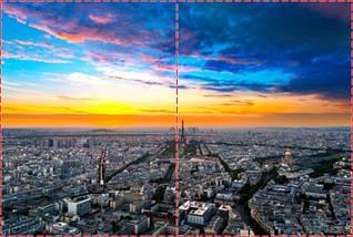 Фотообои бумажные гладь, Эйфелева башня, 200х310 см, fo01inB_gd10708, фото 2