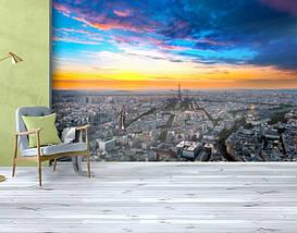 Фотообои бумажные гладь, Эйфелева башня, 200х310 см, fo01inB_gd10708, фото 3