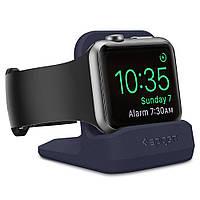 Подставка-держатель Spigen для Apple Watch Night Stand S350, Midnight Blue (000CD21182)