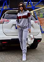 Спортивный костюм женский серый, фото 1