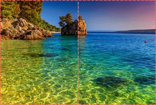 Фотообои бумажные гладь, Море, 200х310 см, fo01inB_mp12227, фото 2