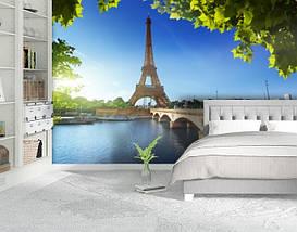 Фотообои текстурированные, виниловые Эйфелева башня, 250х380 см, fo01inV_ar10211, фото 2