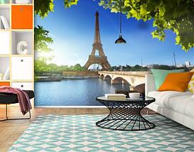 Фотообои текстурированные, виниловые Эйфелева башня, 250х380 см, fo01inV_ar10211, фото 3
