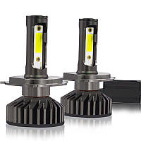 Комплект LED ламп YHKOMS CANBUS H4 X3 Head Light 60W 9000LM 12V с вентиляторами