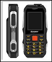 Захищений Мобільний телефон Guslny H700 чорний Акумулятор 2800mA! Ударостійкий, фото 1