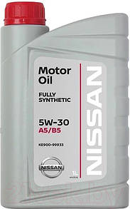 Масло моторное Nissan Motor Oil Fully Synthetic 5W-30 1L