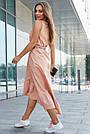 Женское летнее платье сарафан, цвет кофе, повседневное, молодёжное, гламурное, асимметричное, фото 5