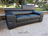 Кожаный диван. Шкіряний диван. Мягкая мебель. Уголок