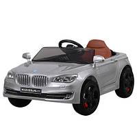 Электромобиль BMW серый