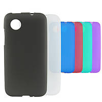 Чехол-накладка Silicon Case Nokia 206 Asha Black
