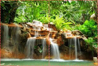 Фотообои бумажные гладь, Водопады, 200х310 см, fo01inB_wf00063, фото 2