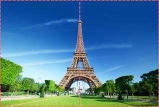 Фотообои бумажные гладь, Эйфелева башня, 200х310 см, fo01inB_ar10214, фото 2