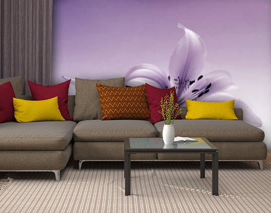 Фотообои текстурированные, виниловые Цветы, 250х380 см, fo01inV_fl13753, фото 2