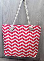 Стильная пляжная сумка в морском стиле, коттон, ассортимент цветов