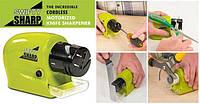 Точилка для ножей на батарейках Swifty Sharp Зеленая. Заточка ножей, фото 1