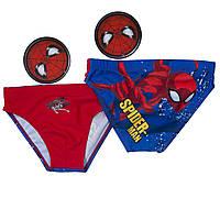 Плавки Человек-паук (Spider-man) на мальчиков 8 лет (р. 128-134) ТМ ARDITEX Красный SM12496_red