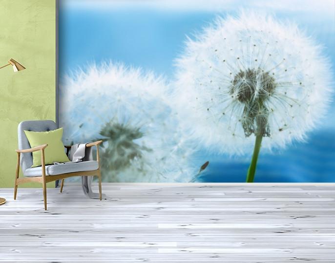 Фотообои бумажные гладь, Цветы, 200х310 см, fo01inB_fl10609
