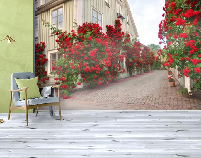 Фотообои текстурированные, виниловые Город, 250х380 см, fo01inV_st00068