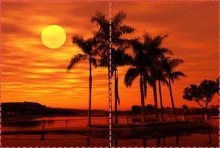 Фотообои бумажные гладь, Море, 200х310 см, fo01inB_mp12570, фото 2