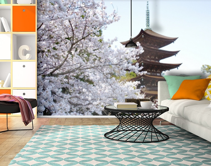 Фотообои текстурированные, виниловые Азия, 250х380 см, fo01inV_as00076