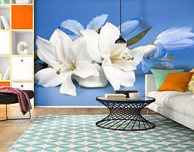 Фотообои текстурированные, виниловые Цветы, 250х380 см, fo01inV_fl102152, фото 3