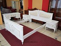 Комплект мебели для спальни шкаф кровать трюмо тумбочка Барокко