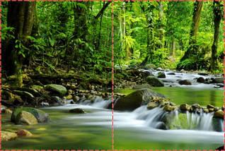Фотообои бумажные гладь, Водопады, 200х310 см, fo01inB_wf00281, фото 2