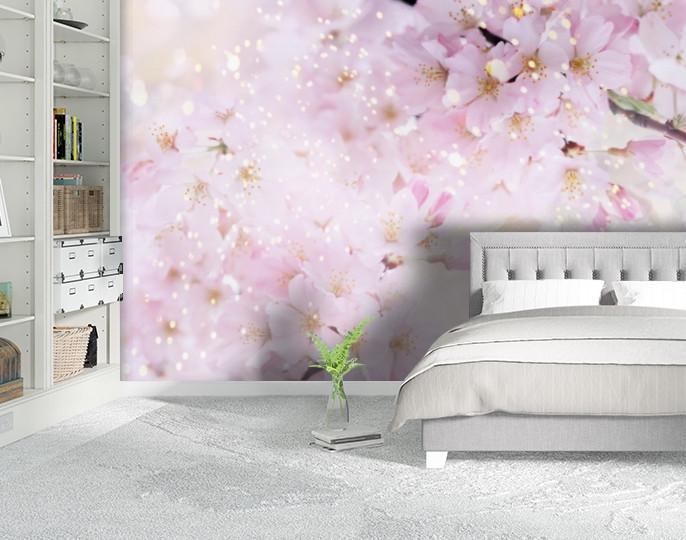 Фотообои текстурированные, виниловые Цветы, 250х380 см, fo01inV_fl101198