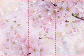 Фотообои текстурированные, виниловые Цветы, 250х380 см, fo01inV_fl101198, фото 2