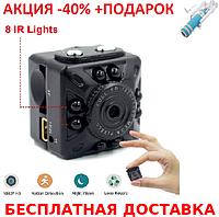Компактная мини видеокамера SQ10 Mini 1080P FHD DVR + монопод для селфи