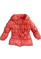 Куртка для ребёнка/девочка 100% полиэстер Розовый Coppa все размеры  104см