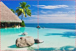 Фотообои бумажные гладь, Море, 200х310 см, fo01inB_mp12641, фото 2