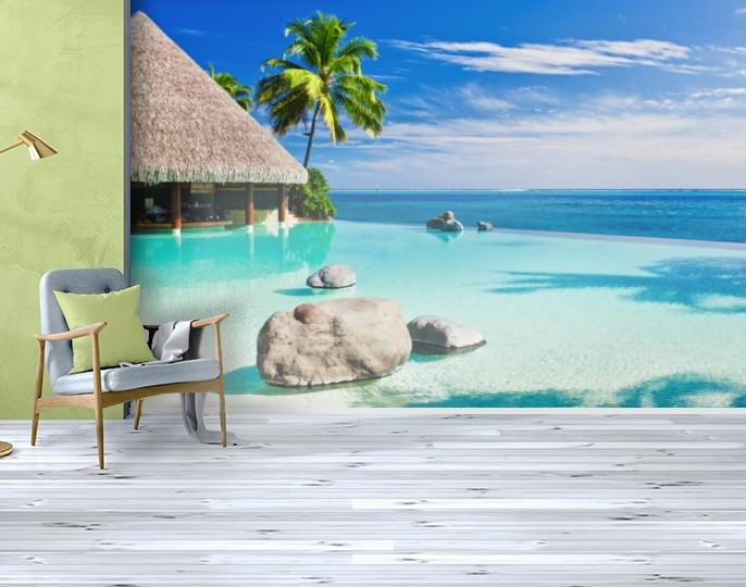 Фотообои текстурированные, виниловые Море, 250х380 см, fo01inV_mp12641