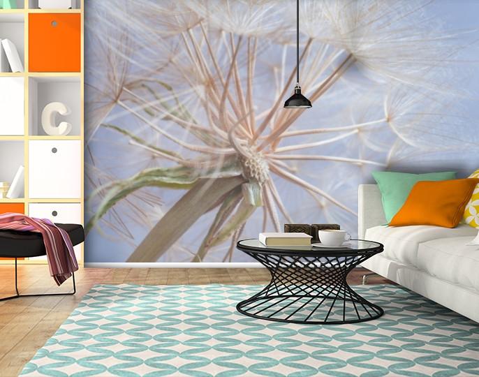 Фотообои текстурированные, виниловые Цветы, 250х380 см, fo01inV_fl13466