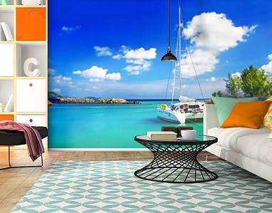 Фотообои текстурированные, виниловые Корабли, 250х380 см, fo01inV_mp11019
