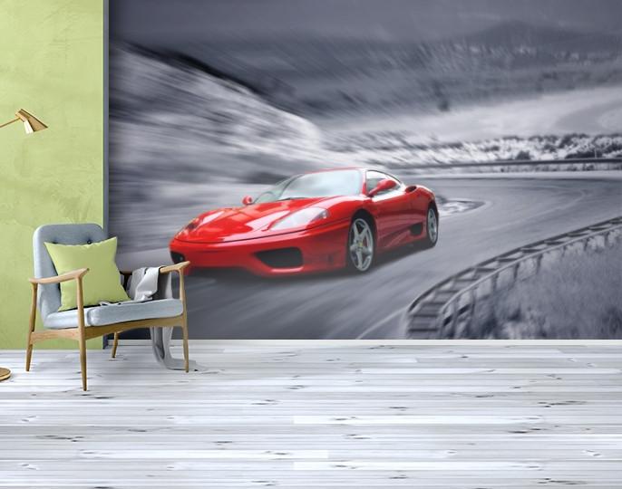 Фотообои текстурированные, виниловые Авто мир, 250х380 см, fo01inV_av11210
