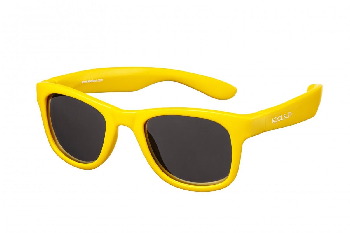 Koolsun Wave - Солнцезащитные очки (1-5 лет), цвет жёлтый