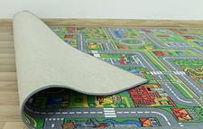 Детский ковролин с дорогами Плейсити, фото 3