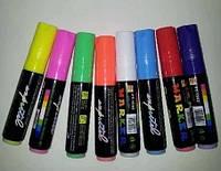 Набор маркеров для LED-панели 8шт 10мм для лед-доски маркеры