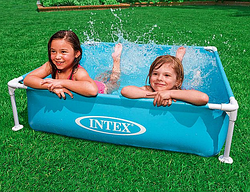 Мобильный каркасный бассейн.Детский бассейн игровой.Бассейн каркасный Интекс.