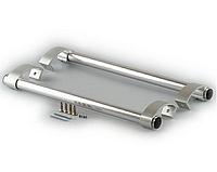 AFC Комплект  ручка - скоба офисная серебро 500мм