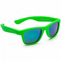 Koolsun Wave - Солнцезащитные очки (3-10 лет), цвет неоново-зеленый