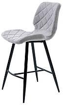 Полубарный стул Diamond светло-серый TM Concepto, фото 3