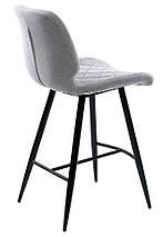 Полубарный стул Diamond светло-серый TM Concepto, фото 2