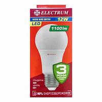 Лампа ELECTRUM  A60 12W  Е27 3000
